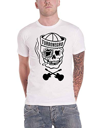 Turbonegro Sailor (White) T-Shirt M