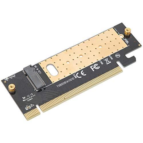 Placa riser M.2 PCI Express 4x SSD, placa adaptadora PCI Express 16x, suporta apenas a chave M M.2 SSD PCI Express M.2 SSD NGFF para / / MAC