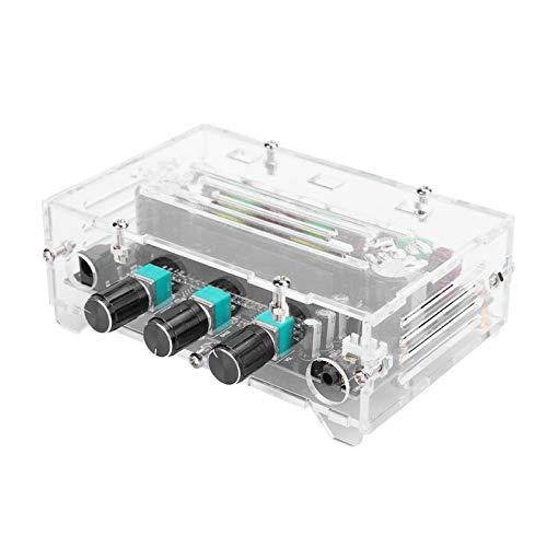 Germerse Placa Amplificadora Potencia Grande Profesional, 80w + 80w + 100w MóDulo Amplificador Canal Sonido 2.1 Voz Ajustable para Altavoz Pasivo Escritorio