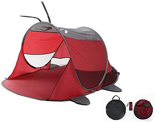 luckycao Kids Indoor Outdoor camping Tent Game house,Sun awning beach play sun tent, Tent that opens automatically