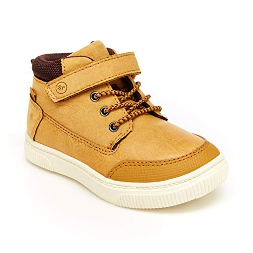 Stride Rite 360 Boy's Booker High-Top Sneaker, Wheat, 11 Little Kid