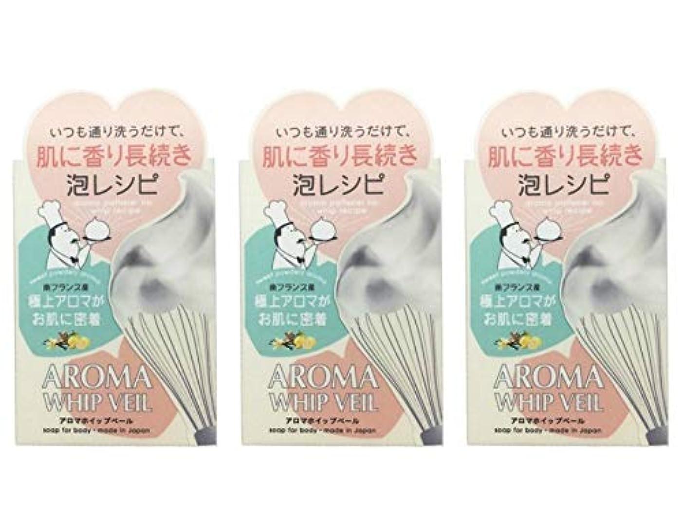 治療ヘアコメンテーター【3個セット】ペリカン石鹸 アロマホイップベール石鹸 100g【3個セット】