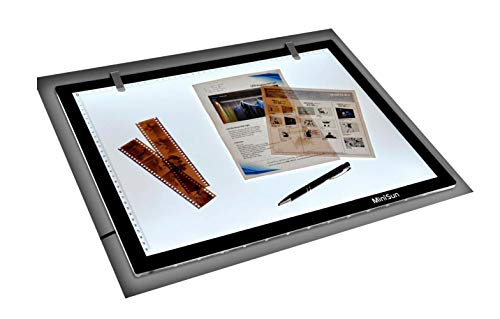 MiniSun - Tableta luz LED tamaño A3 ultra fina diseño