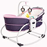 A~LICE&YEC Bett Tragbarer Regenschirm Vibration Comfort Stuhl Elektrisches Bett Anti-Druck-Bett Kinderbett