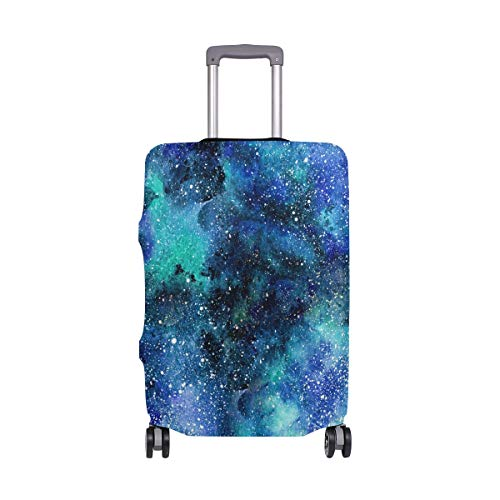 Baggage Covers Blue Purple Galaxy Night Universe Washable Protective Case
