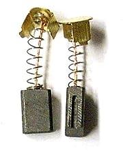 MGE escobillas de carbón Gomes, Compatible Einhell BWS 115, BWS 125, RT-AG 115, BT-AG 500