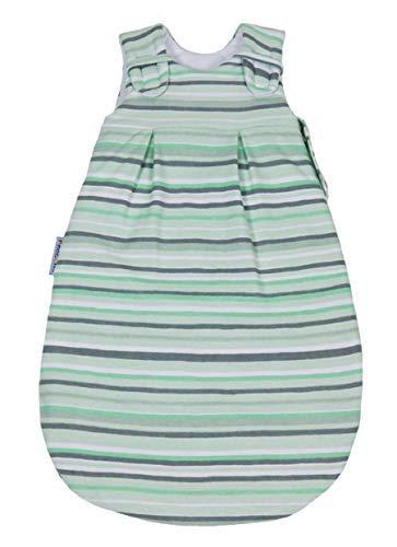 Sommerschlafsack von Picosleep Modernes-Streifendesign Jersey Baumwolle (98/104)