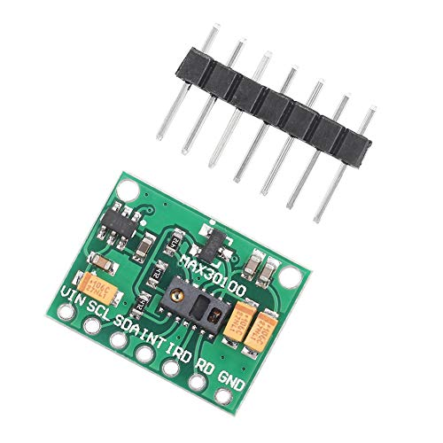 Complete Oximeter Module, Ultra-low-power Low Power Operation High-performance Oximeter Module;Heart-Rate Oximeter Module;Pulse Sensor Module;MAX30100 Module;MAX30100 Sensor module Made of Plastic