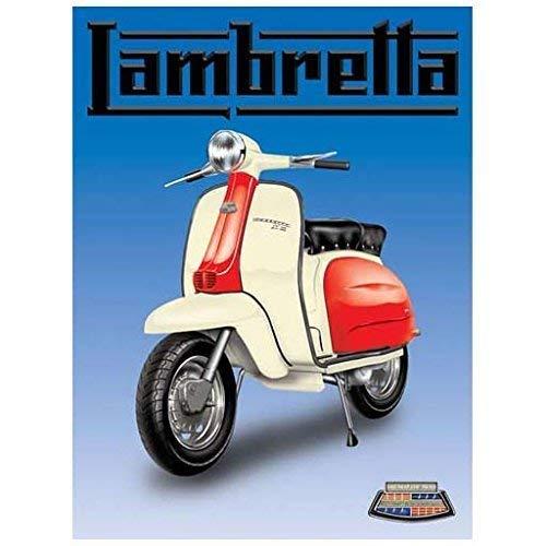 RKO Lambretta Scooter, Classique Italien Icon, Mods, Parent - 9 x 6.5 cm (Magnet)