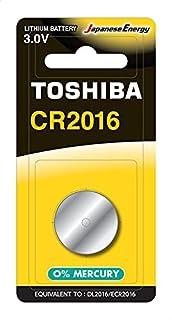 بطارية ليثيوم 3 فولت من توشيبا CR2016 BP-1C - قطعة واحدة
