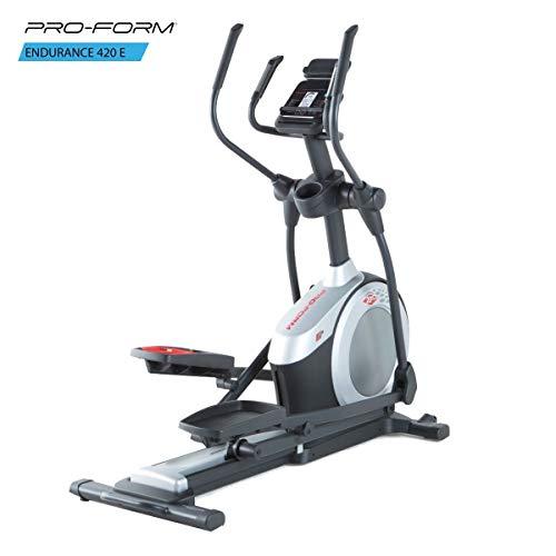 ProForm Endurance 420E Elíptica, Adultos Unisex, Gris, Talla Única