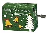 Fridolin Spieluhr Minidrehorgel Kling, Glöckchen, klingelingeling Weihnachtslied -