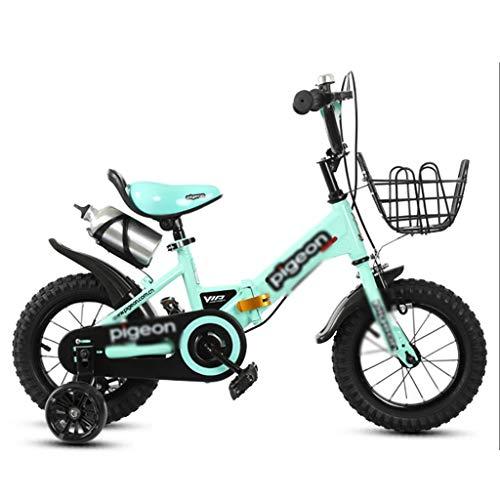 Kinderfietsen indoor hometrainer kinder-klapfiets kinder-outdoor-mountainbike jongen en meisjes, de driewieler fiets rijden als cadeau voor kinderen
