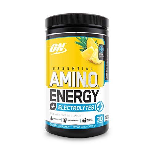 OPTIMUM NUTRITION ESSENTIAL AMINO ENERGY + Electrolytes, Pineapple Twist, Keto...