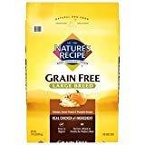 Nature's Recipe Grain Free Large Breed Dry Dog Food Chicken Sweet Potato & Pumpkin Recipe 24 Pounds Easy to Digest