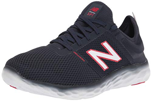 Tênis de corrida New Balance masculino SPT V2, Natural Indigo/Eclipse, 8.5