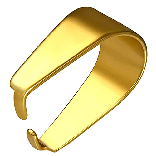 (J) ゴールドステンレスバチカン(2M) 金色 止め具 アクセサリーパーツ 留め金 ネックレス ペンダント 部品 接続金具 金属部品 留め具 留金具 ハンドメイド DIY 手芸 材料 資材