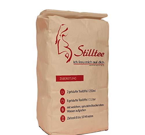 Milchbildungs- und Stilltee nach Stadelmann - 400g Vorteilspackung - lose Teemischung - Kräutertee beim Stillen - ohne Zusatz von Zucker oder Aromen