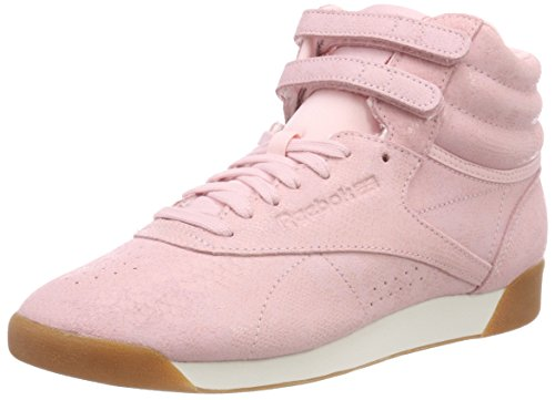 Reebok Damen Freestyle Hi Fitnessschuhe, Mehrfarbig (Exotics/Practical Pink/Chalk 000), 39 EU