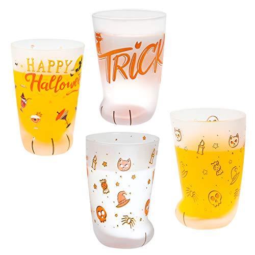 Taza de garra de gato con diseño de pata de gato, taza helada para niños, tazas de cristal de leche, para desayuno, taza de leche con diseño de garra de gato para hombres