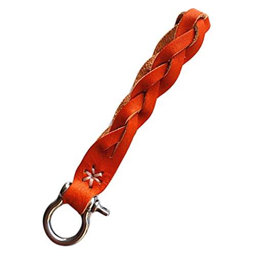 MagiDeal Porte-clés En Cuir Synthétique / Porte-clés à La Main Accessoires Boucle De Ceinture - HY-05, 12cm