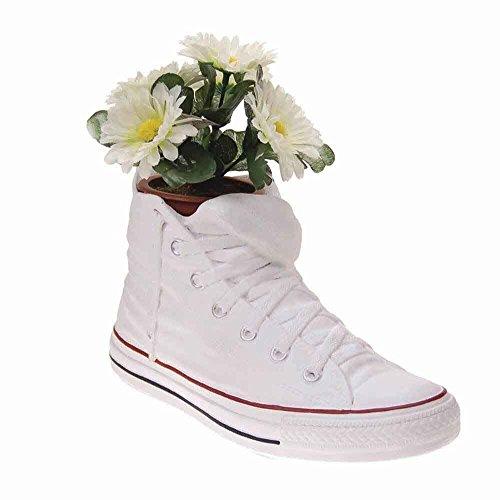 Antartidee schoenenrek Sneakers Jody van witte hars, gemaakt in Italië.