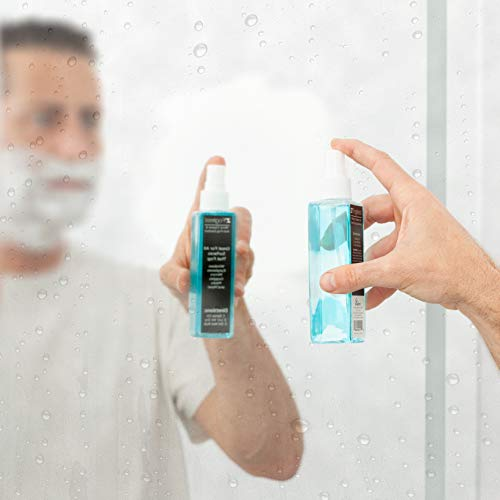 Zadro Z'Fogless Fog Free Mirror and Glasses Spray Solution for Windows, Eyeglasses, Lens, Goggles and Masks [2 Pack]