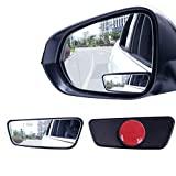 Livtee Framed Rectangular Blind Spot Mirror, HD...