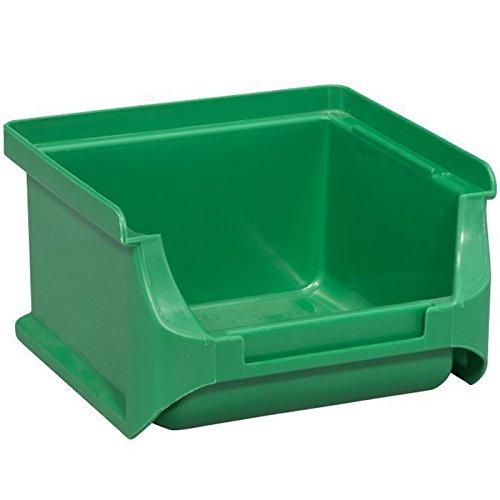 Allit 456203 ProfiPlus Box 1, grün Sichtbox Größe 1 100 x 102 x 60 mm