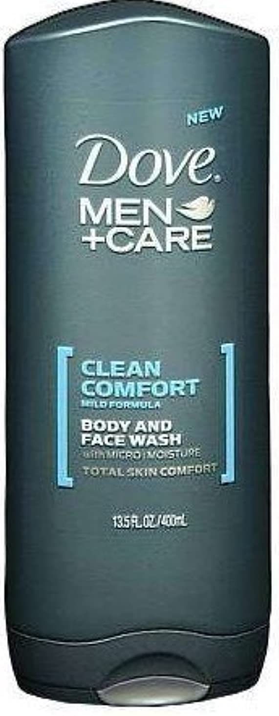 承認思春期ひどいDove Men+care Body and Face Wash 13.5 Oz (400 Ml) by Dot Foods-Unilever Hpc [並行輸入品]