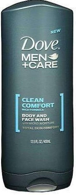 上へドループ発信Dove Men+care Body and Face Wash 13.5 Oz (400 Ml) by Dot Foods-Unilever Hpc [並行輸入品]