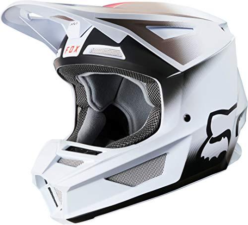FOX Motocross-Helm V2 Weiß Gr. M