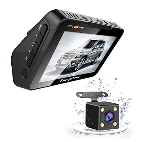 Gamma Tour 2 In 1 Car Dash Camera, Rear View Monitor e Parking Camera 4.3 'TFT LCD per auto SUV Van Truck