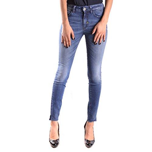 Meltin'Pot Mirea Jeans Slim, Blu, W28/L30 (Taglia Produttore:28) Donna