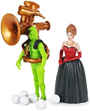 Dr. Seuss How The Grinch Stole Christmas: Grinch & Martha May Whovier with Snowball Launcher