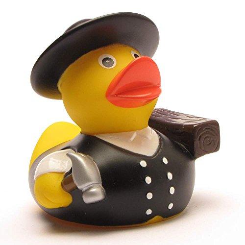 Badeente Zimmermann I Quietscheente I Duckshop I L: 8 cm