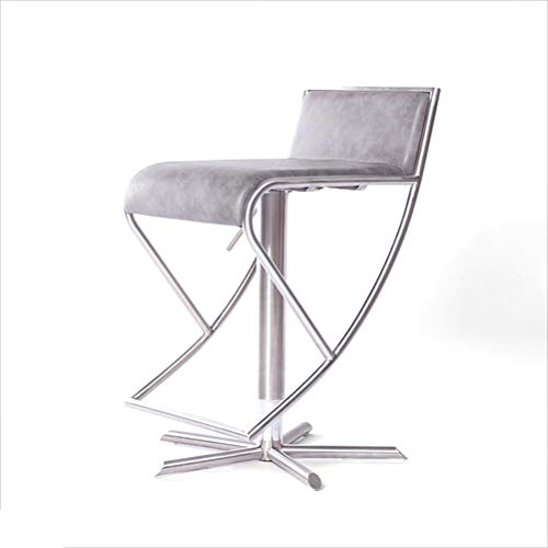 DIAOSI Jiubadeng Europese stijl eenvoudige roestvrijstalen barkruk bar stoel draaibare stoel lift kinderstoel