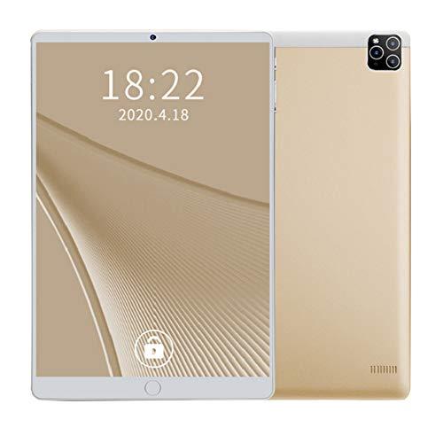 ELLENS Tableta 10 Pulgadas Android 8.1, Procesador Ultra Portátil Octa-Core, 2GB RAM 32GB ROM, Batería 4000mAh, Cámaras Duales, Bluetooth, GPS, WiFi