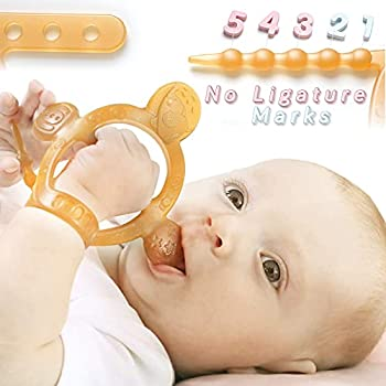 HEORSHE Silicone Molars Adjustable Wristband Baby Teething Toys