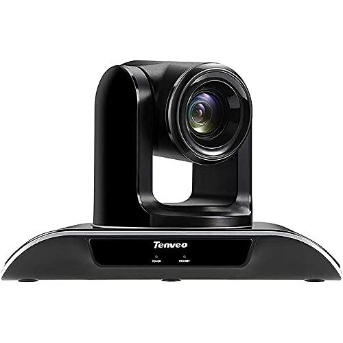 Paquete de Sistema de cámara para Salas de conferencias Tenveo VHD3U, cámara Web de Alta definición Completa de 1080p con Zoom óptico 3X, Adecuado para videoconferencias con Skype/Zoom