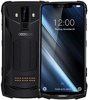 DOOGEE S90C Rugged Phone,4GB+64GB, IP68/IP69K Waterproof Dustproof Shockproof, 5050mAh Battery, Face & Fingerprint ID, 6.18 inch Android 9.0 Helio P70 Octa-Core, 4G, NFC, Wireless Charging(Black)