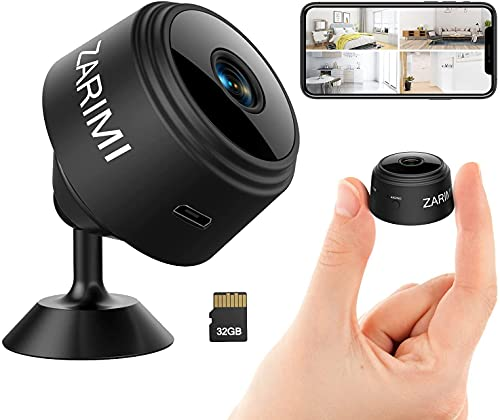 Mini Spy Camera 1080p Hidden Camera With Audio Live Feed Wifi,...
