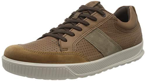 Ecco Herren BYWAY Sneaker, Braun (Camel/Cocoa Brown/Navajo Brown 51982), 43 EU