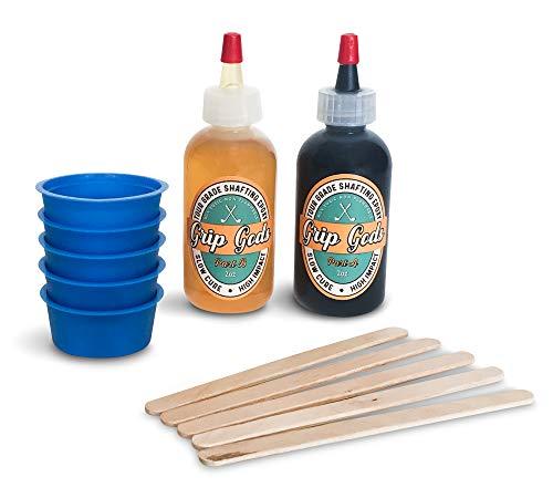 Grip Gods Golf Club Epoxy Kit - Professional Grade - Long Cure
