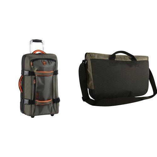 Timberland Twin Mountain 2 Piece Set (Messenger Bag/22 Inch Wheeled Duffle)