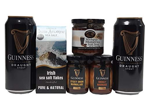 Das irische Gewürz Geschenkpaket mit Guinness und Meersalz
