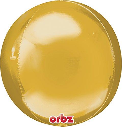 Amscan 15 inch / 38 cm Orbz Foil Ballon (goud)