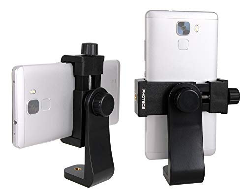 Photecs® Smartphone Halterung V3, Handy Stativ Adapter 1/4