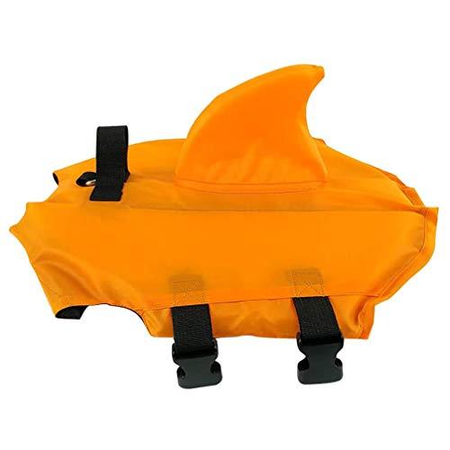 SJTL Hundeschwimmweste Haustier Hund Floatation Weste Schwimmweste Schwimmweste Schwimmmantel Schwimmtraining für Große Mittlere Kleine Hunde Oder Haustier XS/S/M/L/XL/XXL,2XL 1