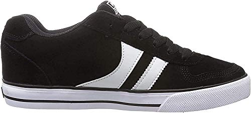 Globe Encore-2, Zapatillas de Skateboard Hombre, Multicolor (Black/White), 38 EU (6 US)